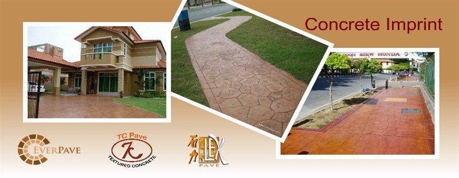Concrete Imprint Malaysia TCpave Everpave Lexpave