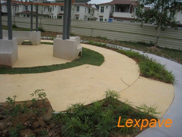 Concrete Floor Landscape
