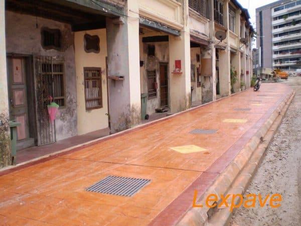 Concrete Flooring Walkway And Apron