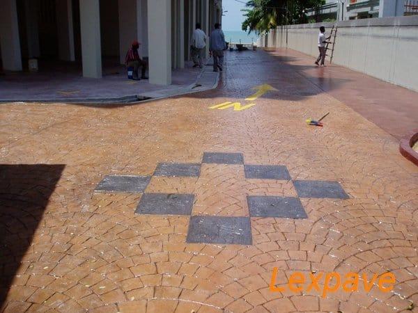 Concrete Imprint Driveway