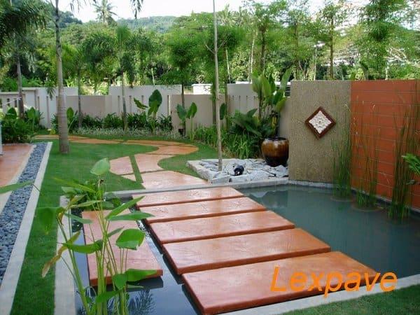 Concrete Imprint Landscape