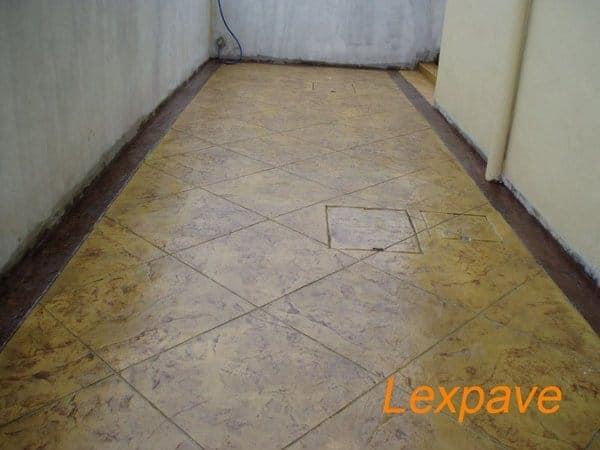 Concrete Paver Walkway And Apron