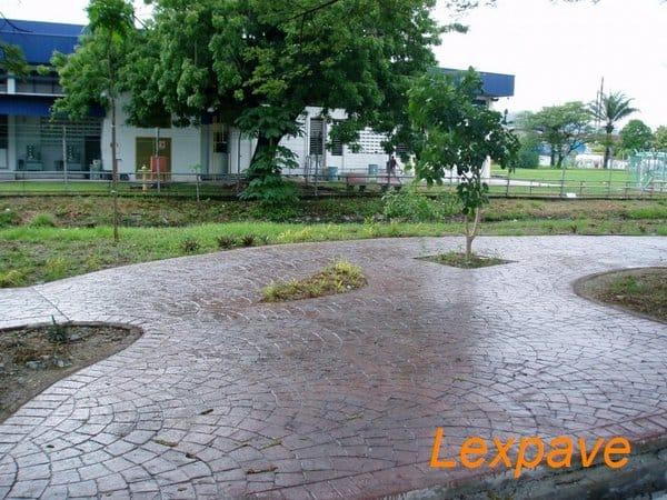 Concrete Paving Landscape