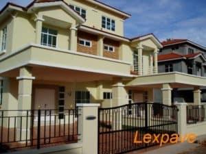 Concrete Imprint Housing Projects