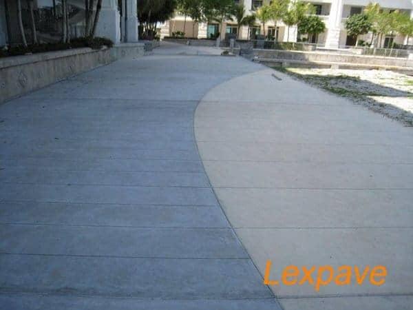 Concreteimprint Walkway Apron