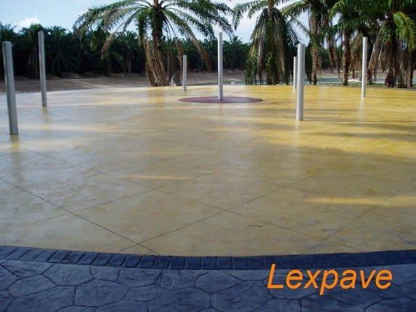 Concretestamped Landscape