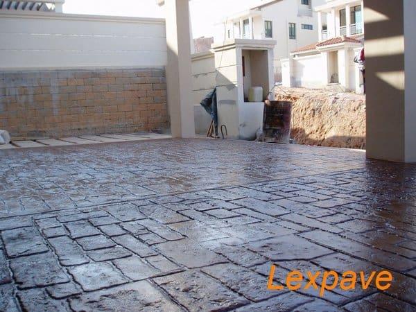 Decorative Concrete Drive Way