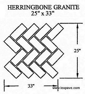 Herringbone Granite
