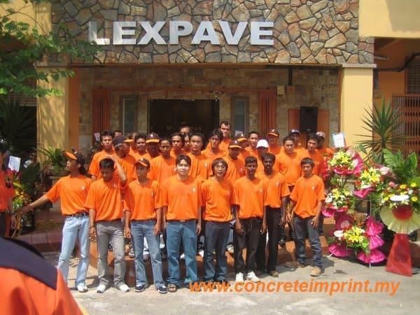 Opening Ceremony Lexpave