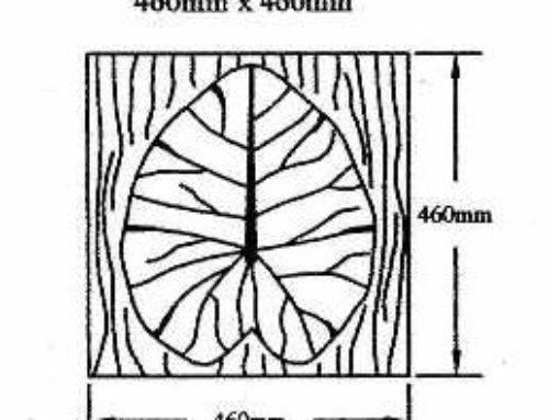 Waterlily Leaf LM-FL07