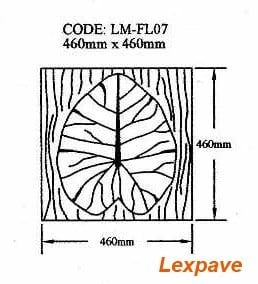 Waterlily Leaf LM-FL07