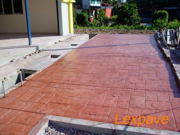 Stampingconcrete Walkway